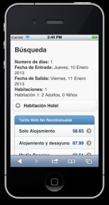 Web Movil Hoteles