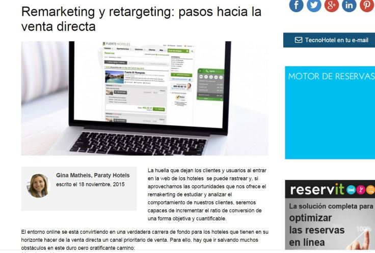 Tecnohotel Remarketing