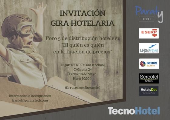 INNVITACIÓN GIRA HOTELARRIA